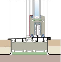 Porta finestra scorrevole alzante edil ser serramenti torino - Scheda tecnica finestra ...