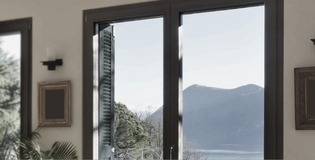 Finestre wnd edil ser serramenti torino - Porte e finestre pvc ...