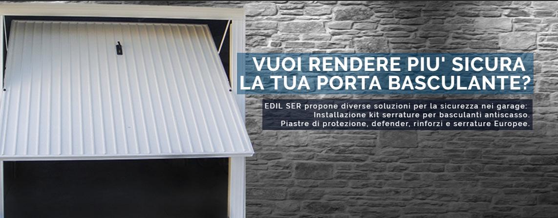 Sostituzione serratura di sicurezza per basculanti - Edil Ser ...
